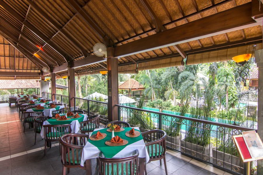 Kamani Restaurant at Champlung Sari Hotel Ubud Bali Near Monkey Forest